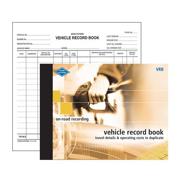 Motor Vehicle Expenses Log Book